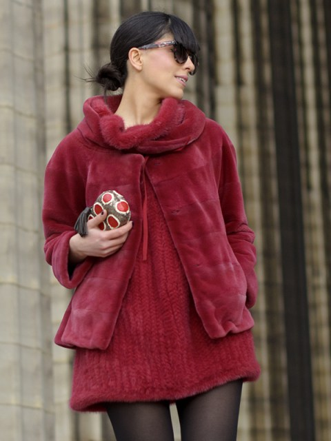 Paris Fashion Week & Un outfit rosso fragola