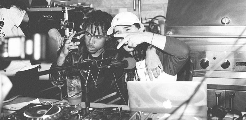 "Vic Mensa Freestyles Over Louis The Child on Skrillex's ""OWSLA Radio"""