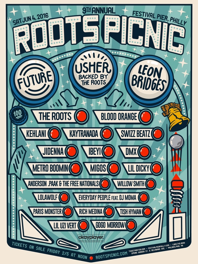 Broad City Introduce The Roots 2016 Picnic Lineup, feat. Future, Usher, Leon Bridges