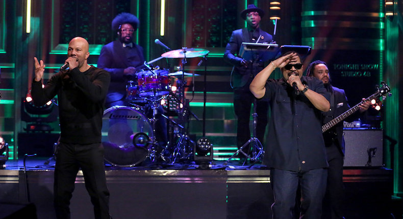 "Video: Ice Cube and Common Perform ""Real People"" on 'The Tonight Show'"