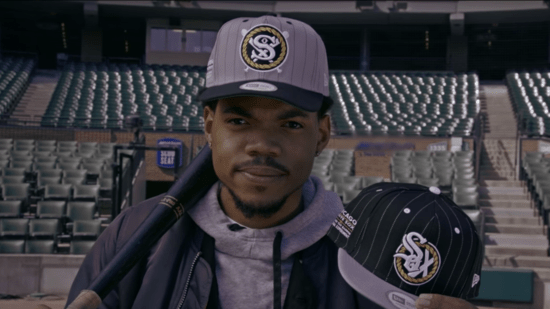 Limited Edition White Sox Hats redesigned by Chance the Rapper