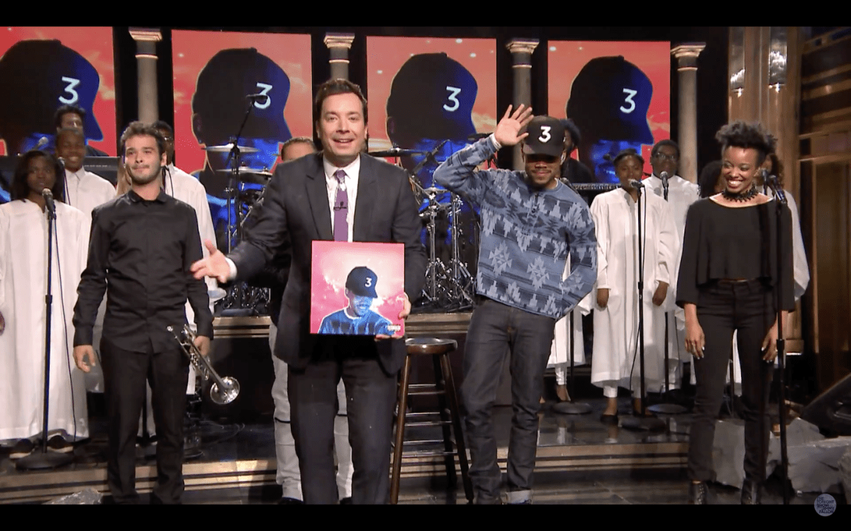 "Video: Chance the Rapper Debuts ""Blessings"" on 'The Tonight Show'"