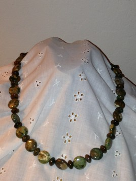 Rhyolite necklace from Robin Moore