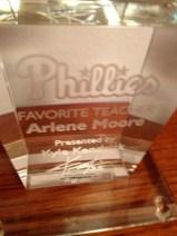 Phillie's Favorite Teacher