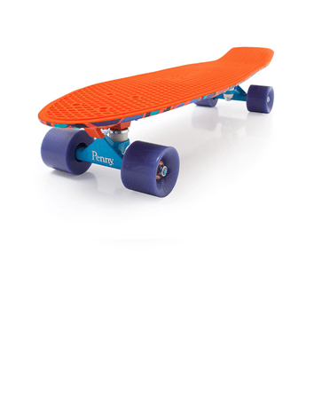 Penny Fresh Prints Nickel Skateboard Spike