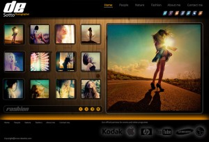 Photoshop Gallery Template