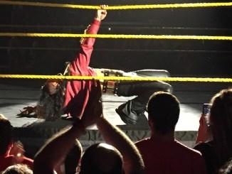 Shinsuke Nakamura - NXT TV taping - August 25, 2016 (photo credit Kyle N./PWTorch)