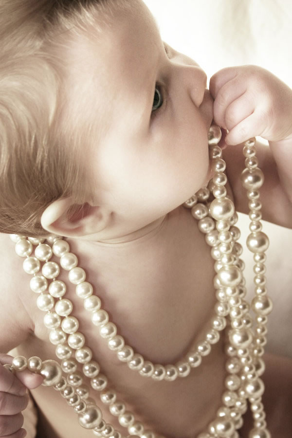 Baby and Pearls