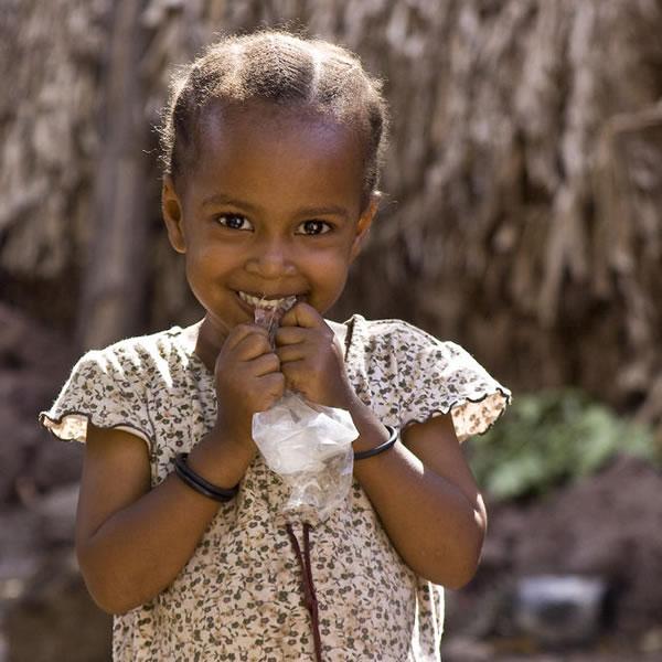 Girl in Mto wa Mbu