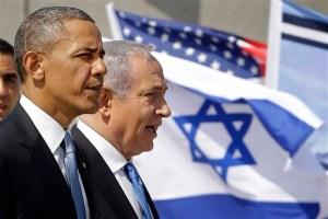 Obama-Israel FOTO