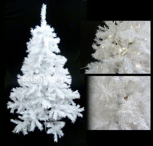 snow white artificial xmas tree