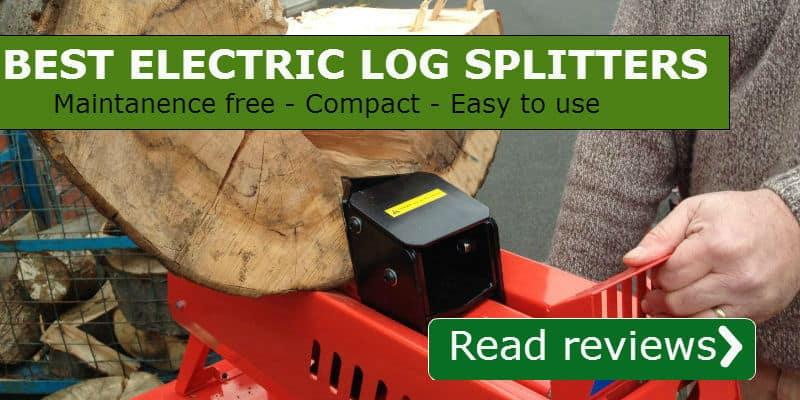 electric log splitter reviews