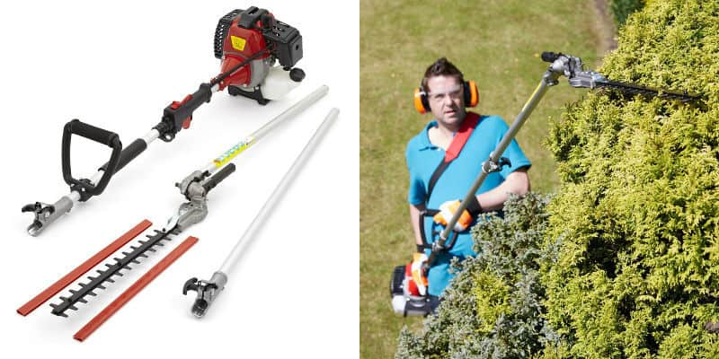 trueshopping long reach hedge trimmer review