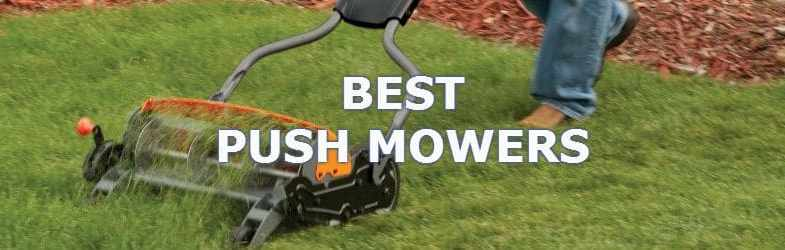 Compare 7 of the best push mowers for that perfect lawn
