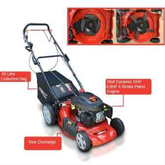 Frisky Fox QUAD-CUT petrol lawn mower review