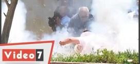 فيديو: لحظه انفجار قنبله في وجه من حاول ابطالها في القاهرة