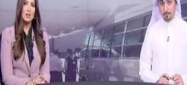 فيديو : طائرة الخطوط الجوية الكويتية الجديدة #جالبوت تتعرض لإصطدام من قبل احد الباصات !!
