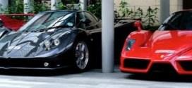 شاهد : شخص واحد يمتلك مجموعة مذهلة من أندر سيارات فيراري !!