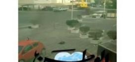 شاهد : تدخل فرقة المتفجرات بوزارة الداخلية لإنفجار حقيبة في أحد فنادق بيند القار !