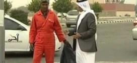 فيديو : عامل نظافة يستقطب العشرات بموهبته !