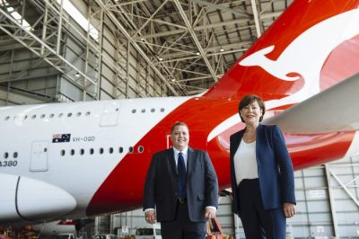 WHEELS UP ON QANTAS AND VODAFONE PARTNERSHIP