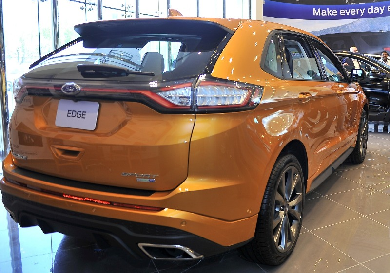 Almana Motors Launches The All New Ford Edge In Qatar Is Booming