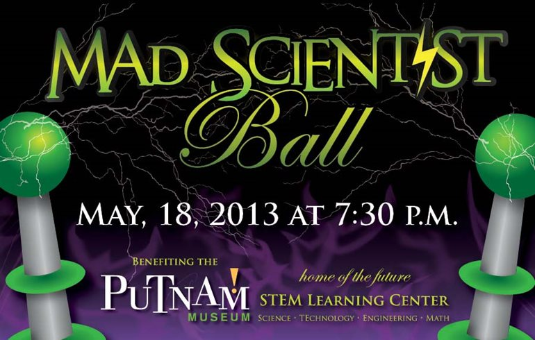 QC Co-Lab Going to the Putnam Museum's Mad Scientists Ball!