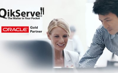 NEWS : QikServe Becomes Oracle PartnerNetwork Gold Level Partner