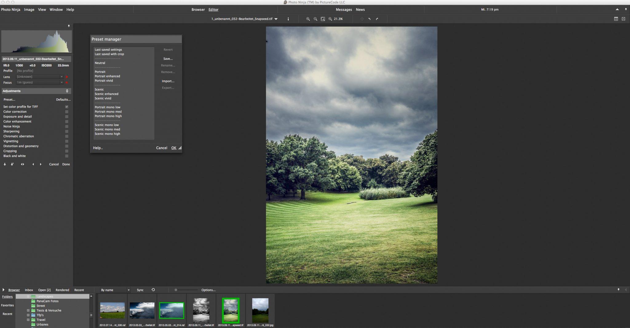 Screenshot PhotoNinja