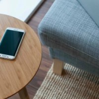 FurniQi Side Table For Effortless Wireless Charging