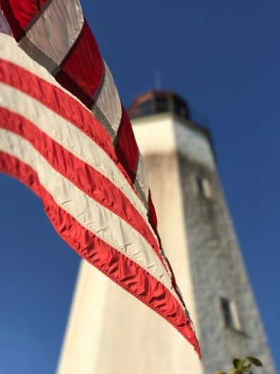 The Sandy Hook is the oldest continuous light in the country, predating the country itself.