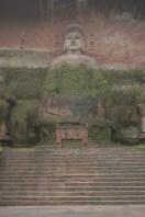 Buddha gravé en pierre à Leshan