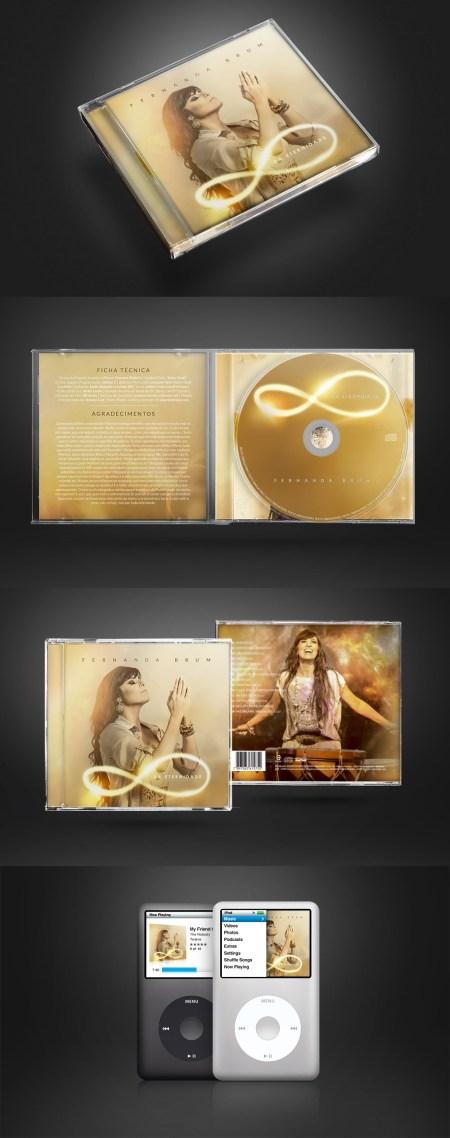 CD Da Eternidade – Fernanda Brum