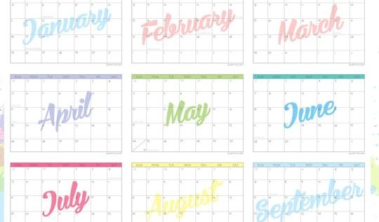 Queen-Lila-2015-Calendar-Free-Download