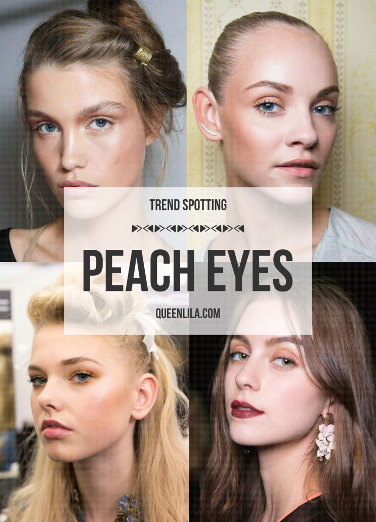 Trend Spotting | Peach Eyes on queenlila.com