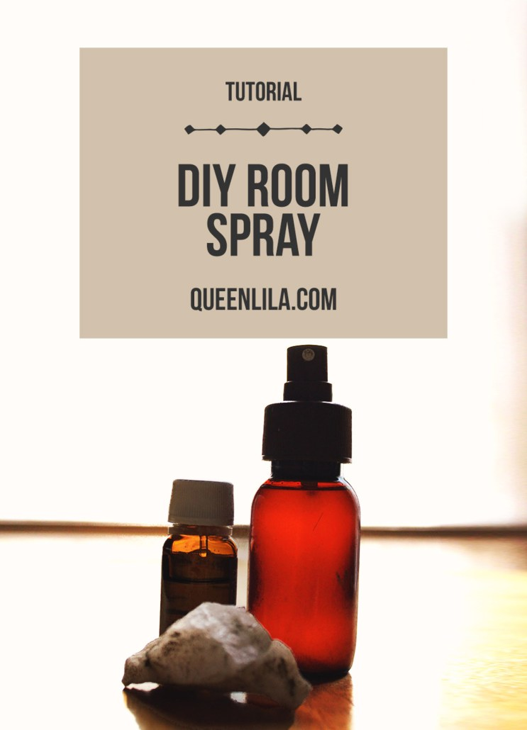 DIY Room Spray. Click through for the recipe! | Queen Lila