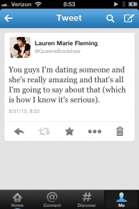 I even tweeted about it.