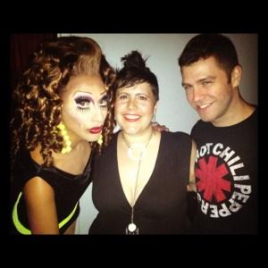 Bianca, Matt and I in NYC, July 2012.