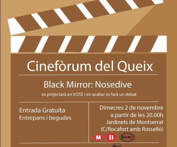 Cinefòrum 02/11/2016 – Black Mirror (Nosedive)