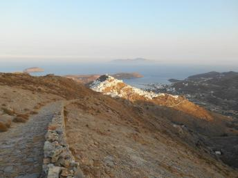 Vue sur Chora (Serifos)