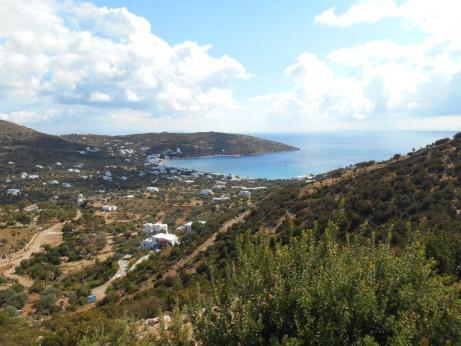 Vue sur Platys Gialos (Sifnos)