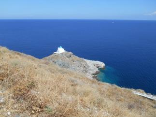 Chapelle d'Eftamartiros à Kastro (Sifnos)