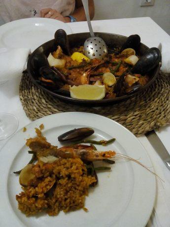 Paëlla chez El Horno (Ciutadella)
