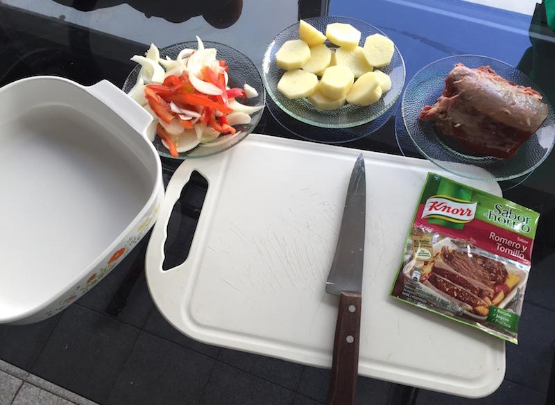 Carne al horno en Bolsa Knorr