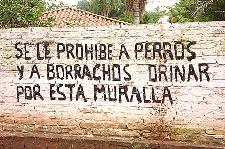 Borrachos y perros - Graffiti