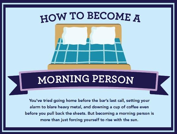 Cómo despertarse temprano
