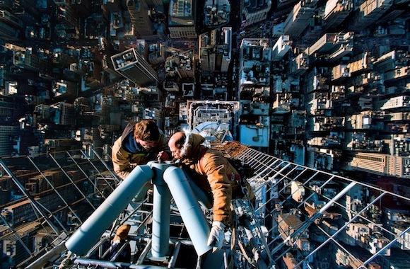 Foto desde la cima del Empire State - Vincent Laforet
