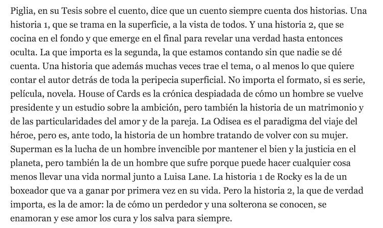 Caro Aguirre y las historias de amor