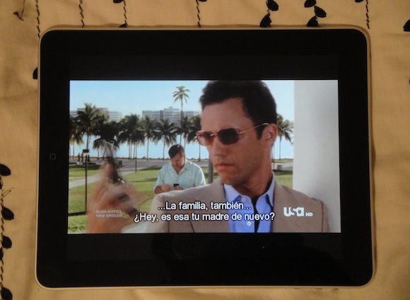 iPad: Burn notice
