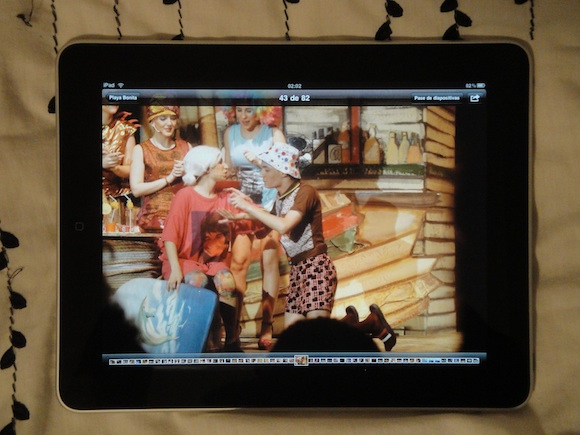 iPad - Playa Bonita!